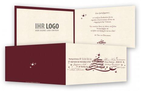 Weihnachtskarten Mit Firmenlogo.Weihnachtskarten Karten Weihnachten Weihnachtliche Karten