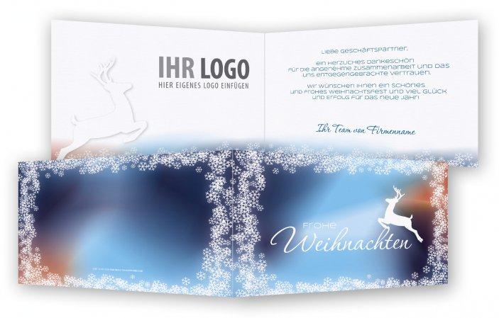 Weihnachtsgrüße Klassisch.Klassische Weihnachtskarte Gestalten Feinekarten Com