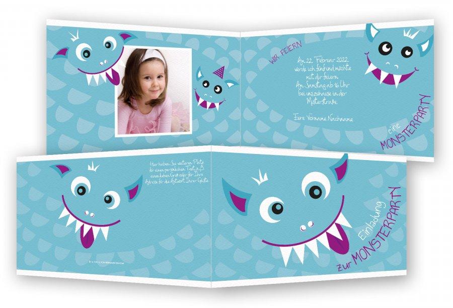 einladungskarten kindergeburtstag | feinekarten, Einladungsentwurf