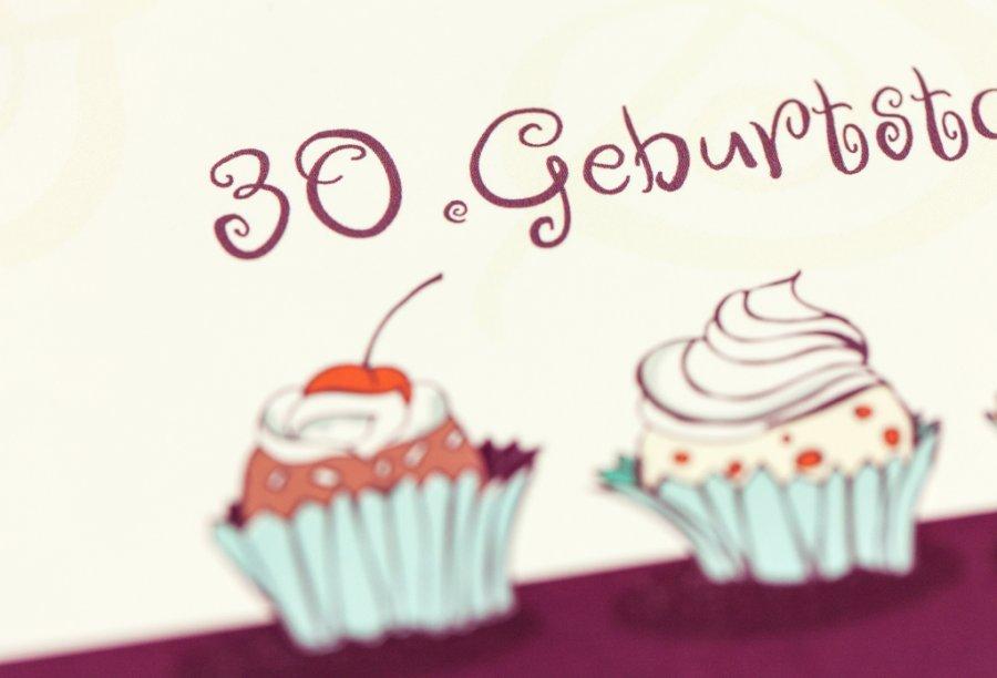 Einladungskarten Für 30. Geburtstag