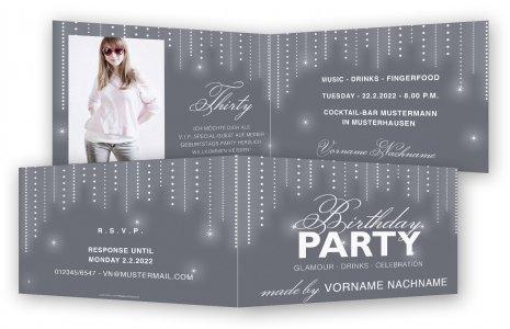 Einladungskarten 30 Geburtstag Feinekarten Com