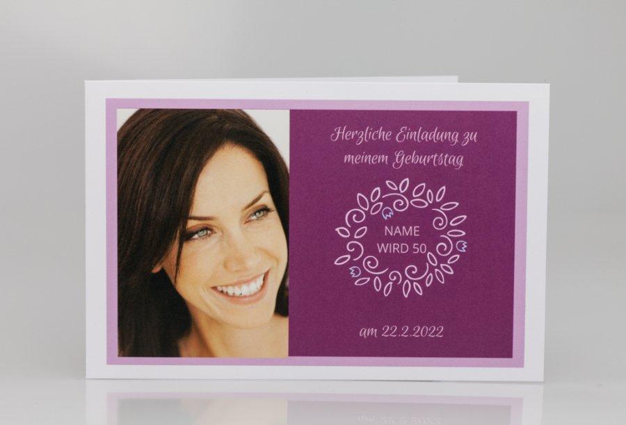 Einladungskarten 50 Geburtstag 10 Pictures to pin on Pinterest