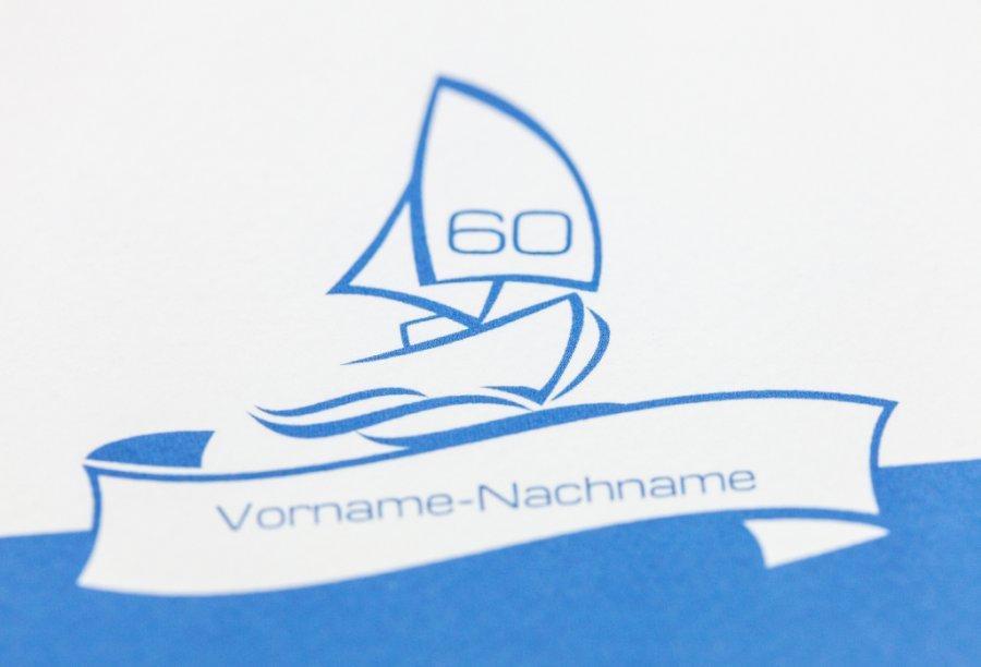 Einladungskarten Geburtstag 60 | Feinekarten.com