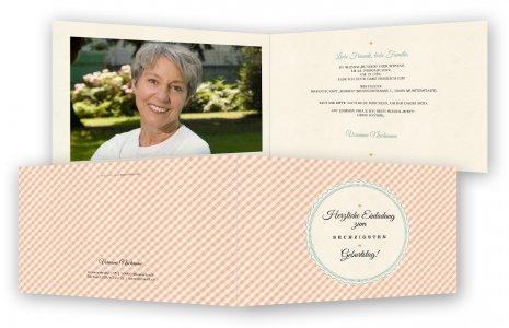 einladung zum 60. geburtstag, einladungskarten | feinekarten, Einladung