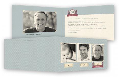 60. Geburtstag Einladungskarten Vorlagen