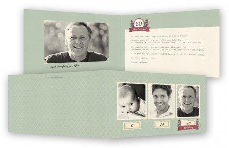 60. Geburtstag Einladungskarten Vorlagen · Fotos