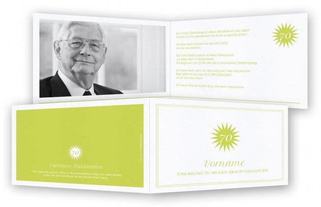 Einladungskarten 80 Geburtstag: Einladungen 70. Geburtstag