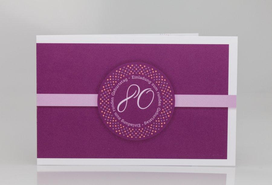 Startseite » Geburtstag » Einladungskarten zum 80. Geburtstag
