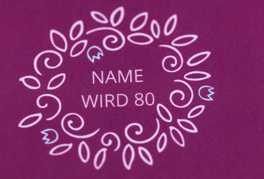 Einladungen zum 80. Geburtstag | Feinekarten.com