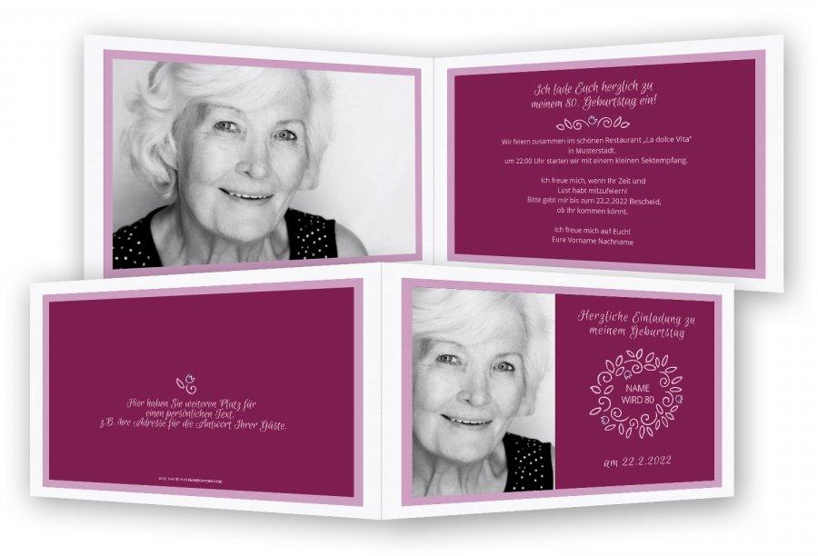 Einladungen Zum 80. Geburtstag