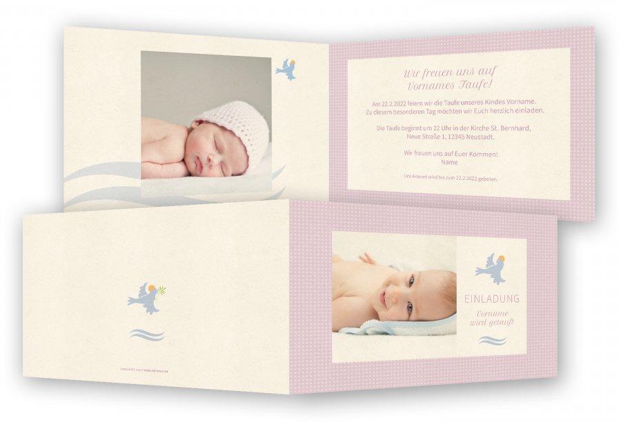 Einladungskarten Taufe
