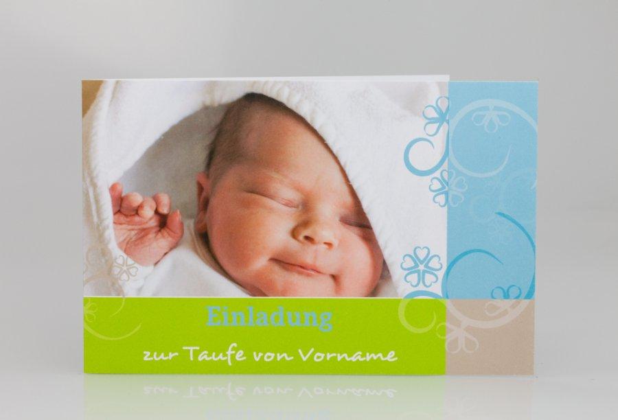 Einladungskarte Taufe Bild