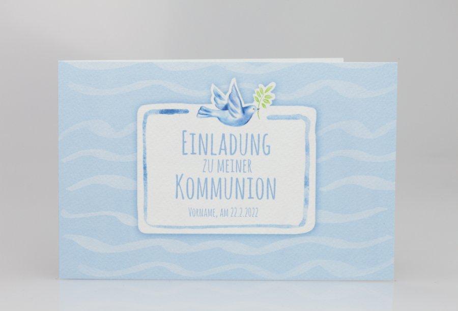 einladungskarten kommunion   feinekarten, Einladungskarten