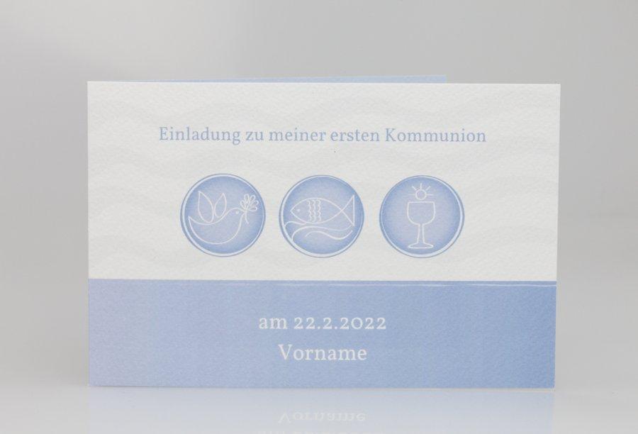 kommunion einladungskarten | feinekarten, Einladung