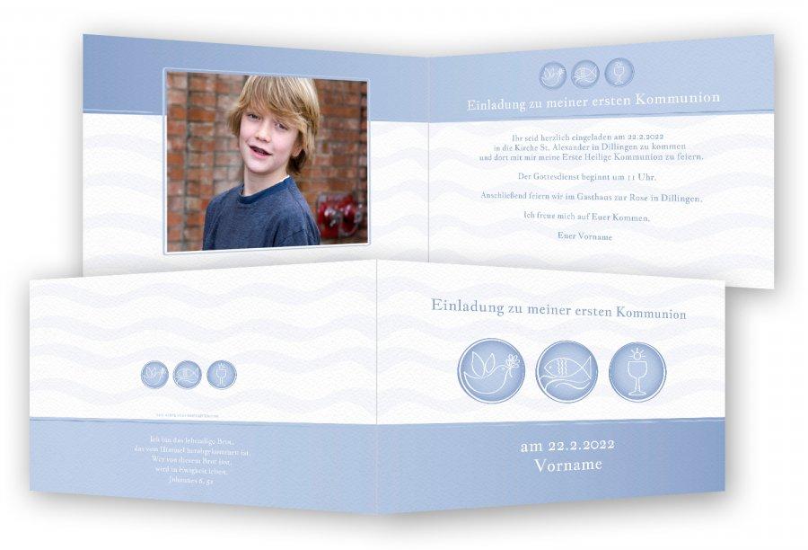 kommunion einladungskarten | feinekarten, Einladungsentwurf