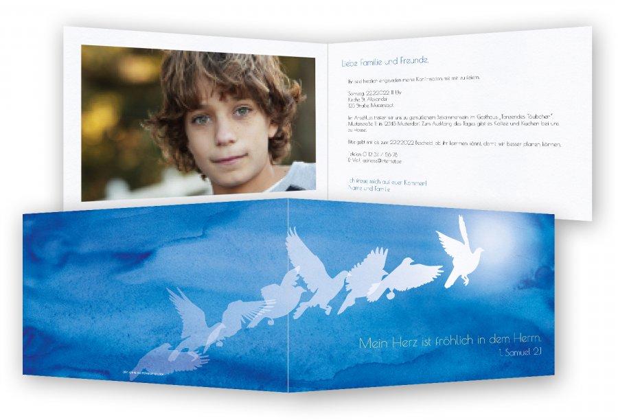 kommunion einladungskarten, einladung kommunion | feinekarten, Einladung