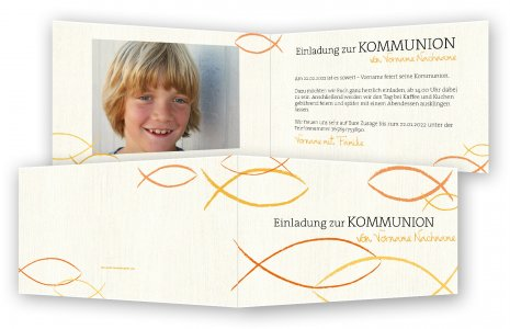 kommunion einladungskarten, einladung kommunion | feinekarten, Einladungsentwurf