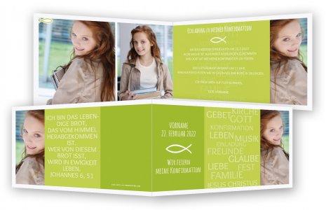 konfirmationseinladungen, einladung konfirmation | feinekarten, Kreative einladungen