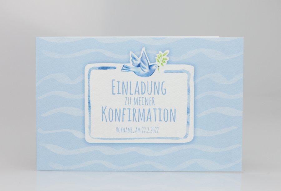 Einladungskarten zur Konfirmation | Feinekarten.com