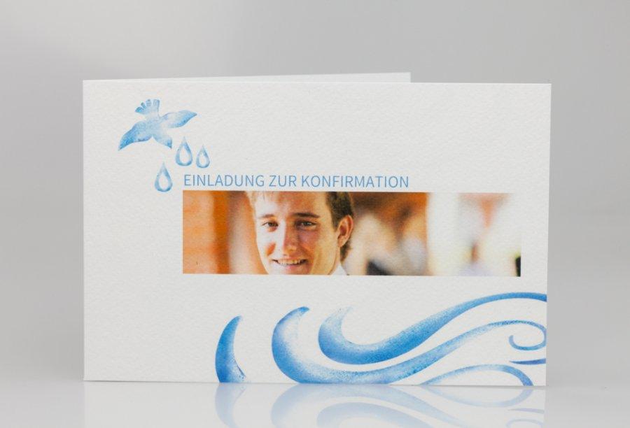 Einladungskarten Für Die Konfirmation Bild