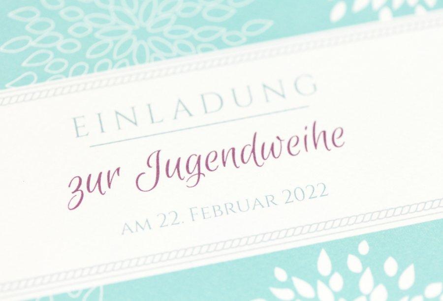Einladung Jugendweihe | Feinekarten.com