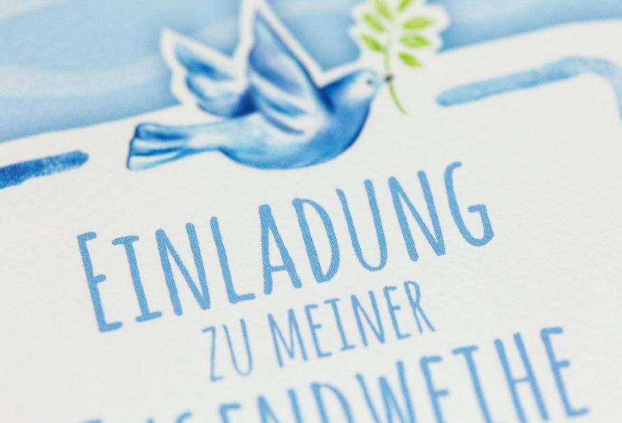 Einladungskarten Zur Jugendweihe Bild