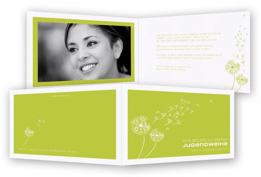 einladung zur jugendweihe | feinekarten, Einladung