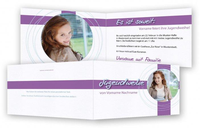 Einladungskarten Einladungskarten Jugendweihe: Einladungskarte Für Die Jugendweihe