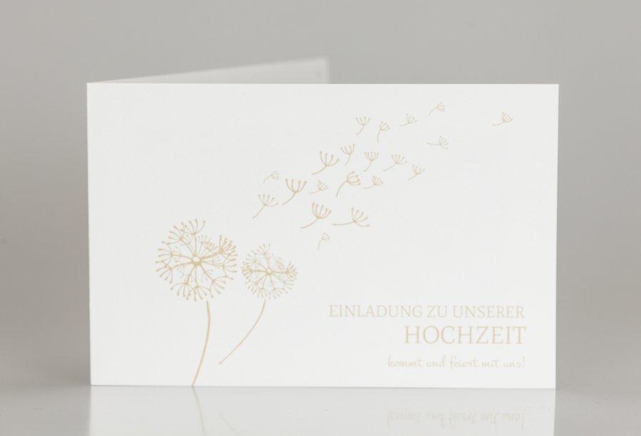 Einladungskarte Hochzeit | Feinekarten.com