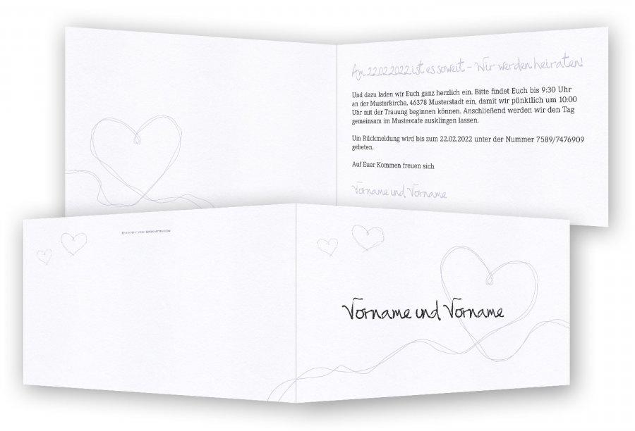 Vorlage Hochzeitseinladung   Feinekarten.com