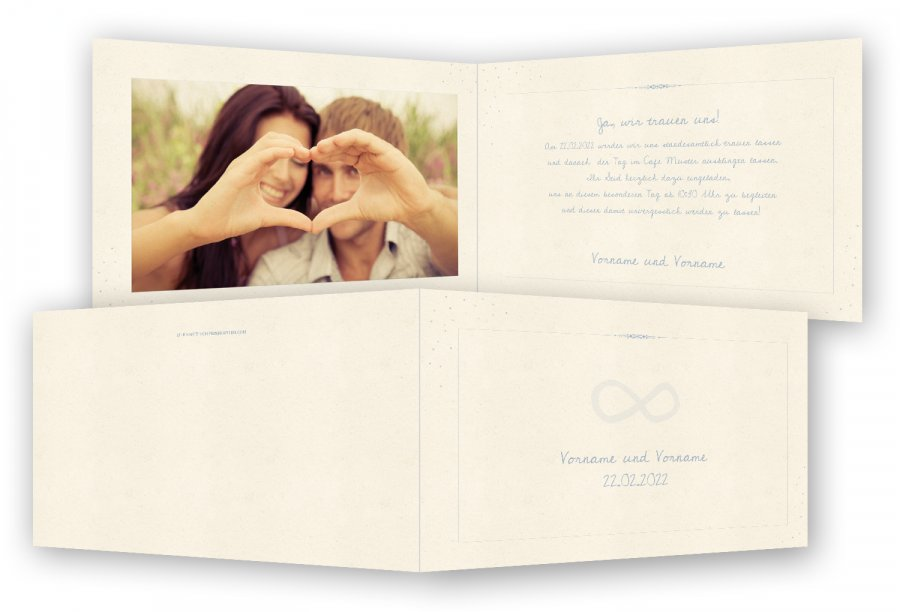 Vorlage Einladungen zur Hochzeit | Feinekarten.com