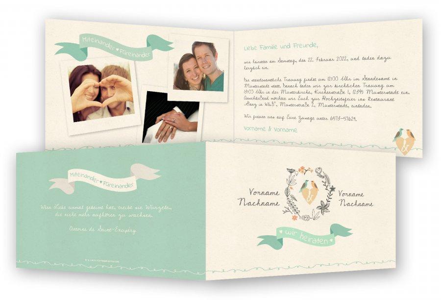 Hochzeitseinladungen Vorlagen Gestalten Feinekarten Com