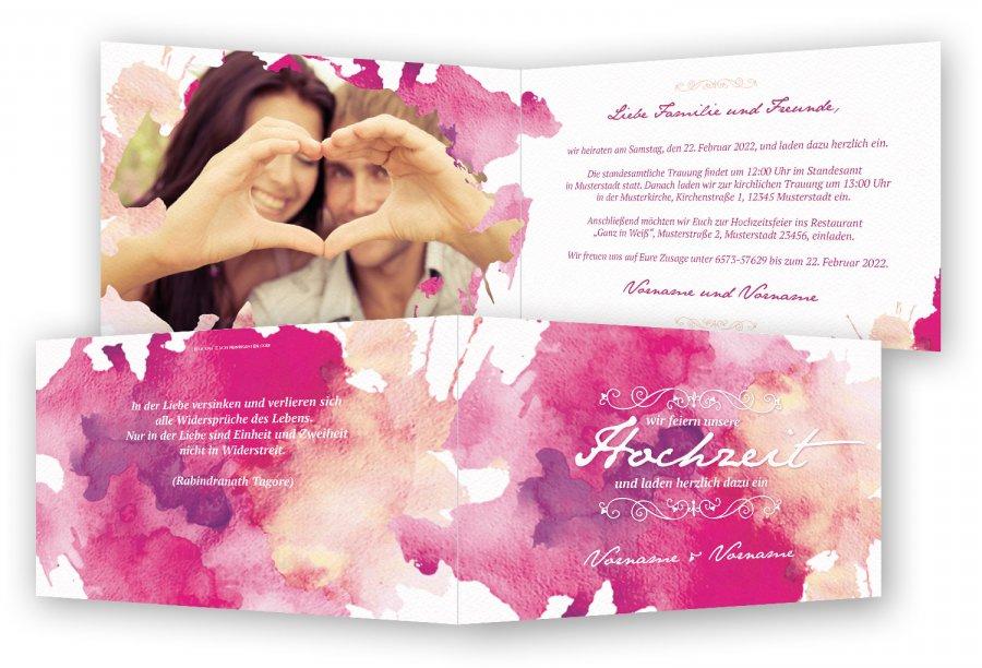 Hochzeitseinladungen Einladungskarten Hochzeit Feinekarten Com