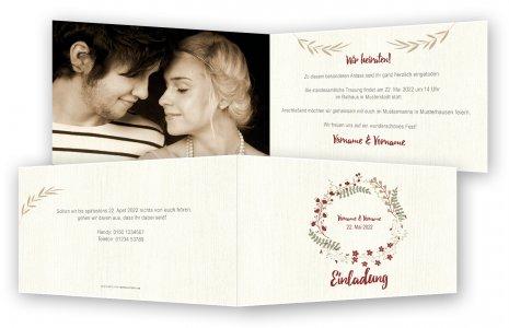Hochzeit Einladungskarten Vorlagen