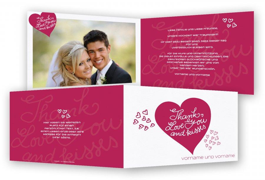 Danksagungskarten Hochzeit Gunstig Feinekarten Com