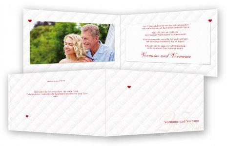 einladung silberhochzeit, einladungskarten | feinekarten, Einladung