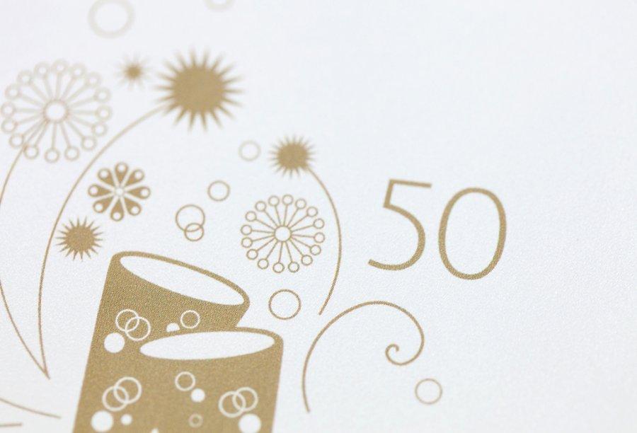 Einladung Goldene Hochzeit | Feinekarten.com
