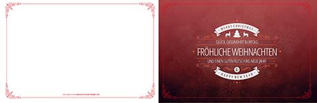 Hochwertige Weihnachtskarten.Geschäftliche Weihnachtskarten Worauf Es Wirklich Ankommt