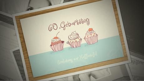 Toll Einladungskarten Zum 60. Geburtstag Video Vorschau